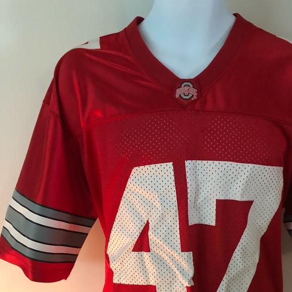 new product e9b02 60c20 AJ hawk #47 Ohio state jersey size medium